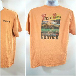 Nautica Pacific Pines Golf Course Graphic T-Shirt